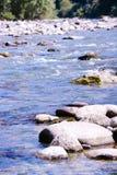 Rzeki i morza kamienie Fotografia Royalty Free
