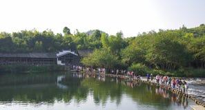 Rzeki i mosty Obrazy Royalty Free