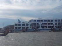 Rzeki i statki Zdjęcie Stock