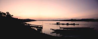rzeki mekong słońca zdjęcie royalty free