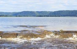 Rzeki Mississippi Spillway Obraz Stock