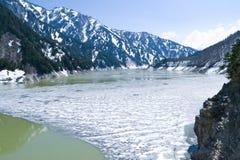 Rzeki tama w Japonia Zdjęcie Stock