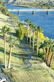 rzeki zielona strona Obraz Royalty Free