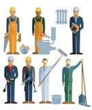 rzemieślnicy royalty ilustracja