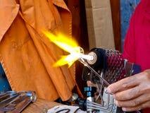 rzemieślnika blowtorch działanie Fotografia Royalty Free