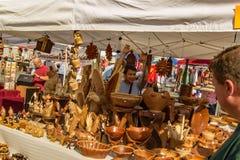Rzemieślnika sprzedawanie Wykonuje ręcznie †'Salem, Virginia, usa Zdjęcie Stock