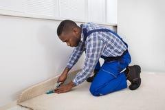 Rzemieślnika trafny dywan obrazy stock