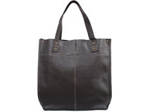 Rzemienna żeńska torebka Zdjęcie Royalty Free