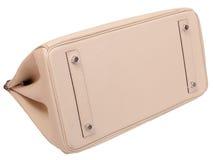 Rzemienna żeńska torebka. Fotografia Stock