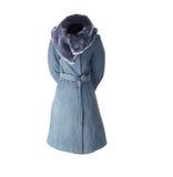 rzemienna płaszczowa kobieta Fotografia Royalty Free