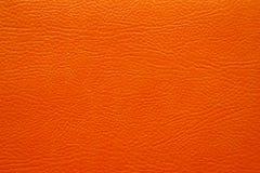 rzemienna pomarańczowa tekstura Zdjęcie Royalty Free