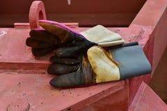 Rzemienna rękawiczka zdjęcie royalty free
