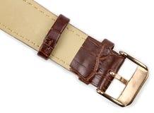 Rzemienna zegarek patka zdjęcia stock