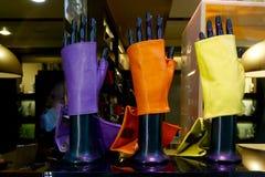 Rzemienne rękawiczki Zdjęcia Royalty Free