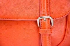 Rzemiennej torby zakończenie Up obrazy stock