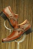 Rzemienni formalni buty Obraz Stock