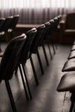 Krzesła w sala Fotografia Royalty Free