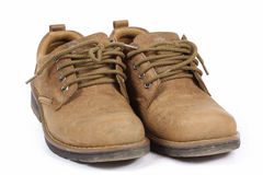 rzemienni męscy buty Zdjęcie Stock