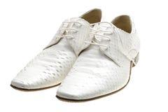 rzemienni męscy buty Zdjęcia Royalty Free