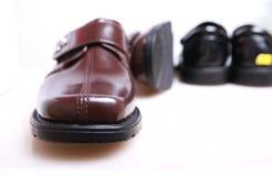 rzemienni nowi buty Zdjęcia Stock