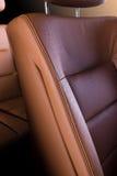 Rzemienny samochodowy siedzenie zdjęcia royalty free