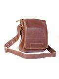 rzemienny satchel Fotografia Royalty Free
