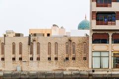 Rzepu Dubaj meczet Zdjęcie Stock