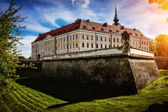 Rzeszow Castle. One of the main landmarks of Rzeszow rebuilt between 1902-1906, located on the former grounds of the castle of the House of Lubomirski Stock Images