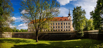 Rzeszow Castle. One of the main landmarks of Rzeszow rebuilt between 1902-1906, located on the former grounds of the castle of the House of Lubomirski Royalty Free Stock Photo