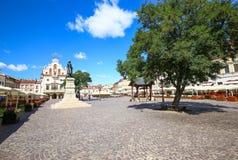Rzeszow no Polônia, centro histórico Fotos de Stock Royalty Free