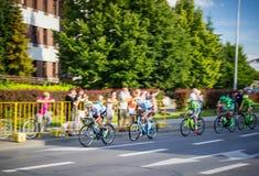 RZESZOW, POLÔNIA - 15 DE JULHO: Excursão de Pologne da raça de ciclismo, fase 4 Imagem de Stock Royalty Free