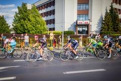 RZESZOW, POLÔNIA - 15 DE JULHO: Excursão de Pologne da raça de ciclismo, fase 4 Foto de Stock