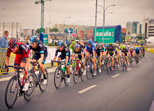 RZESZOW, POLAND - JULY 30: Cycling race Tour de Pologne, stage 3 Stock Photography