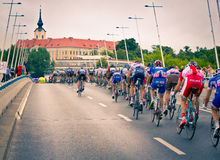 RZESZOW, POLAND - JULY 30: Cycling race Tour de Pologne, stage 3 Royalty Free Stock Photo