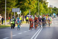 RZESZOW, POLAND - JULY 15: Cycling race Tour de Pologne, stage 4 Stock Photography