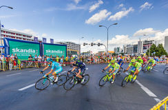 RZESZOW, POLAND - JULY 15: Cycling race Tour de Pologne, stage 4 Royalty Free Stock Photography