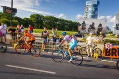 RZESZOW, POLAND - JULY 15: Cycling race Tour de Pologne, stage 4 Stock Photos