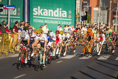 RZESZOW, POLAND - JULY 15: Cycling race Tour de Pologne, stage 4 Royalty Free Stock Images