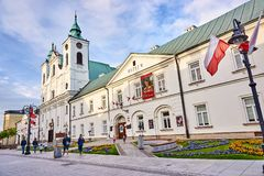 Free RZESZOW, POLAND - MAY 4, 2019: The Former Piarist Monastery Now Royalty Free Stock Photography - 149142097