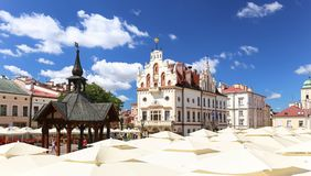 Rzeszow in Poland / the old town Royalty Free Stock Photos