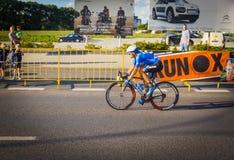 RZESZOW, POLEN - 15. JULI: Radfahrenrennenpolen-rundfahrt, Stadium 4 Stockfotografie