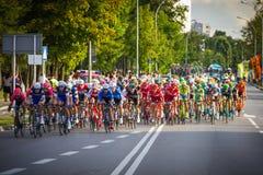 RZESZOW, POLONIA - 15 DE JULIO: Viaje de Pologne, etapa 4 de la raza de ciclo Fotografía de archivo