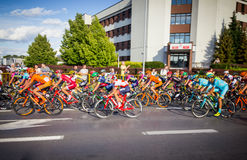 RZESZOW, POLONIA - 15 DE JULIO: Viaje de Pologne, etapa 4 de la raza de ciclo Fotos de archivo