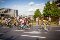RZESZOW, POLONIA - 15 DE JULIO: Viaje de Pologne, etapa 4 de la raza de ciclo Imágenes de archivo libres de regalías