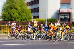 RZESZOW, POLONIA - 15 DE JULIO: Viaje de Pologne, etapa 4 de la raza de ciclo Imagenes de archivo