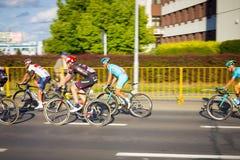 RZESZOW, POLONIA - 15 DE JULIO: Viaje de Pologne, etapa 4 de la raza de ciclo Foto de archivo libre de regalías