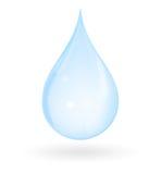 rzuć czystej wody Zdjęcie Royalty Free
