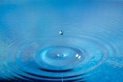 rzuć wody Fotografia Stock