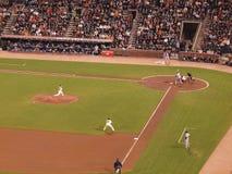 rzucać Brian inningu smoły zastępujący rzuca Wilson Obraz Royalty Free