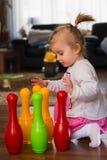 Rzucać kulą zabawki Fotografia Stock